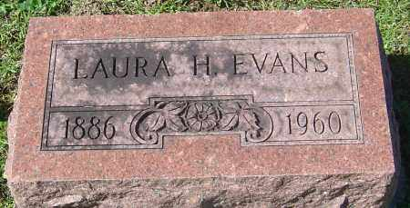 EVANS, LAURA H - Franklin County, Ohio | LAURA H EVANS - Ohio Gravestone Photos
