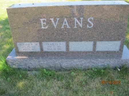 EVANS, RICHARD H SR. - Franklin County, Ohio | RICHARD H SR. EVANS - Ohio Gravestone Photos