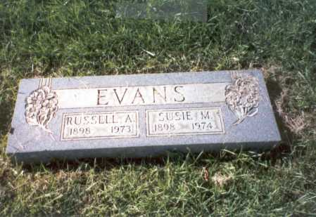 EVANS, SUSIE M. - Franklin County, Ohio | SUSIE M. EVANS - Ohio Gravestone Photos