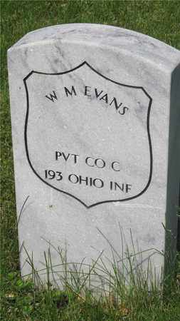 EVANS, W. M. - Franklin County, Ohio | W. M. EVANS - Ohio Gravestone Photos