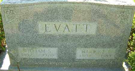 EVATT, WILLIAM S - Franklin County, Ohio | WILLIAM S EVATT - Ohio Gravestone Photos