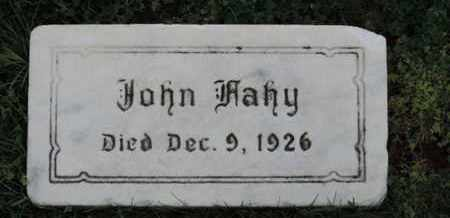 FAHY, JOHN - Franklin County, Ohio | JOHN FAHY - Ohio Gravestone Photos