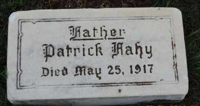 FAHY, PATRICK - Franklin County, Ohio | PATRICK FAHY - Ohio Gravestone Photos