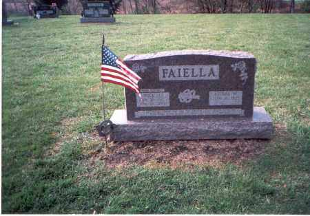 FAIELLA, NICK J. - Franklin County, Ohio | NICK J. FAIELLA - Ohio Gravestone Photos