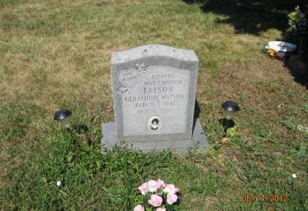 FAISON, GERALDINE WATSON - Franklin County, Ohio | GERALDINE WATSON FAISON - Ohio Gravestone Photos