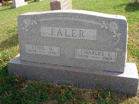 FALER, ETHEL M. - Franklin County, Ohio | ETHEL M. FALER - Ohio Gravestone Photos