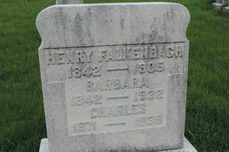 FALKENBACH, HENRY - Franklin County, Ohio | HENRY FALKENBACH - Ohio Gravestone Photos