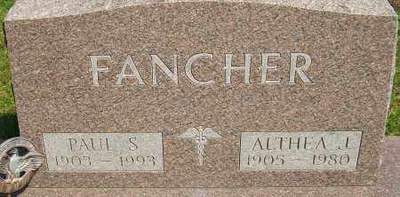 FANCHER, ALTHEA J - Franklin County, Ohio | ALTHEA J FANCHER - Ohio Gravestone Photos