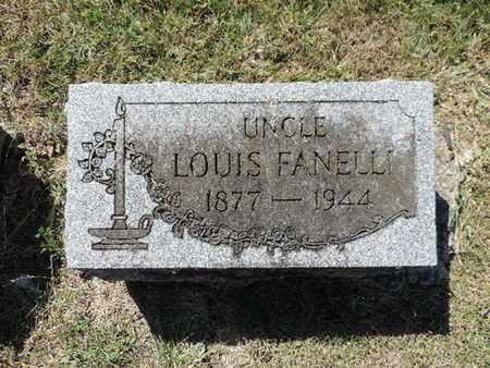 FANELLI, LOUIS - Franklin County, Ohio | LOUIS FANELLI - Ohio Gravestone Photos