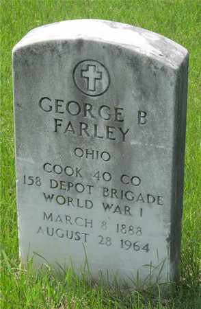 FARLEY, GEORGE B - Franklin County, Ohio | GEORGE B FARLEY - Ohio Gravestone Photos