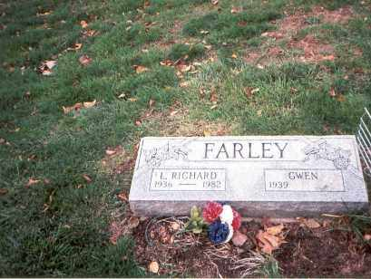 FARLEY, GWEN - Franklin County, Ohio | GWEN FARLEY - Ohio Gravestone Photos