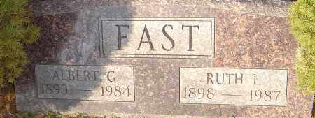 FAST, RUTH L - Franklin County, Ohio | RUTH L FAST - Ohio Gravestone Photos