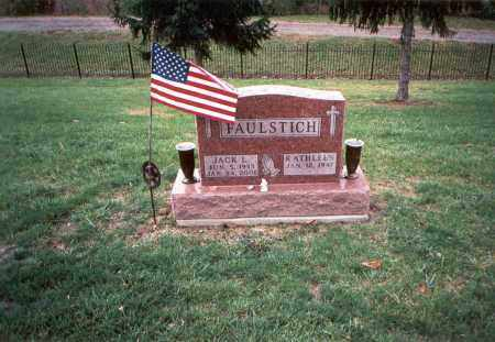 FAULSTICH, JACK L. - Franklin County, Ohio | JACK L. FAULSTICH - Ohio Gravestone Photos
