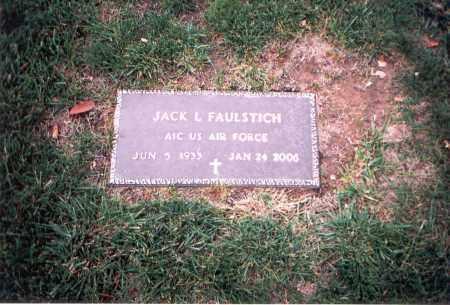 FAULSTICH, JACK L. - Franklin County, Ohio | JACK L. FAULSTICH - Ohio Gravestone Photos