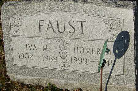 FAUST, IVA M - Franklin County, Ohio | IVA M FAUST - Ohio Gravestone Photos
