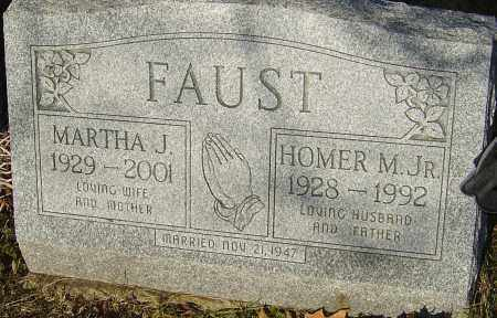 FAUST, MARTHA - Franklin County, Ohio | MARTHA FAUST - Ohio Gravestone Photos