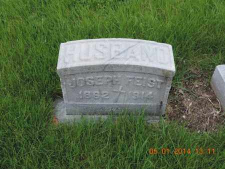 FEIST, JOSEPH - Franklin County, Ohio | JOSEPH FEIST - Ohio Gravestone Photos