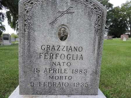 FERFOGLIA, GRAZZIANO - Franklin County, Ohio | GRAZZIANO FERFOGLIA - Ohio Gravestone Photos