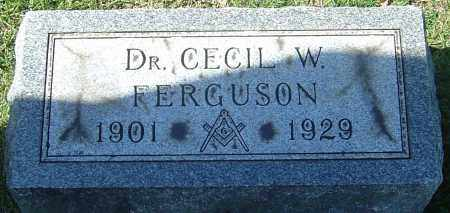 FERGUSON, CECIL WILLIAM - Franklin County, Ohio | CECIL WILLIAM FERGUSON - Ohio Gravestone Photos