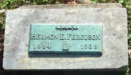 FERGUSON, HERMON E - Franklin County, Ohio | HERMON E FERGUSON - Ohio Gravestone Photos