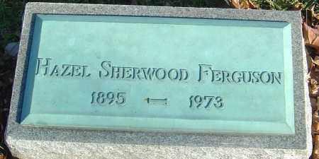 SHERWOOD FERGUSON, HAZEL - Franklin County, Ohio | HAZEL SHERWOOD FERGUSON - Ohio Gravestone Photos