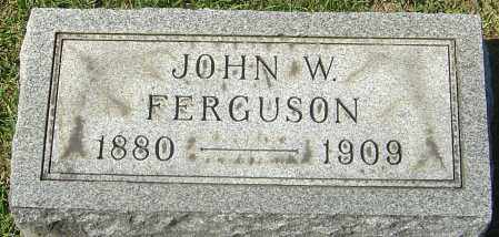 FERGUSON, JOHN WILLIAM - Franklin County, Ohio | JOHN WILLIAM FERGUSON - Ohio Gravestone Photos