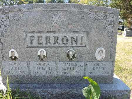 FERRONI, GRACE - Franklin County, Ohio | GRACE FERRONI - Ohio Gravestone Photos