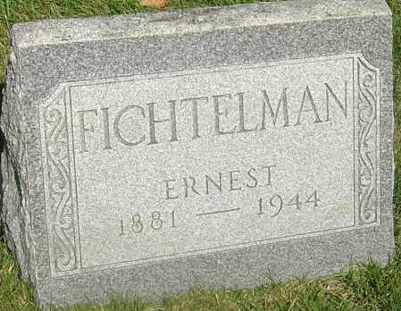 FICHTELMAN, ERNEST FRANCIS - Franklin County, Ohio | ERNEST FRANCIS FICHTELMAN - Ohio Gravestone Photos