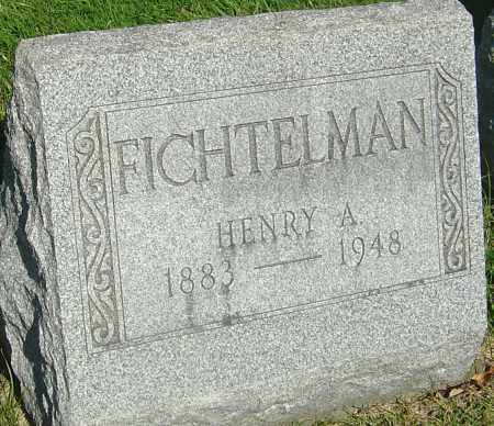 FICHTELMAN, HENRY A - Franklin County, Ohio | HENRY A FICHTELMAN - Ohio Gravestone Photos