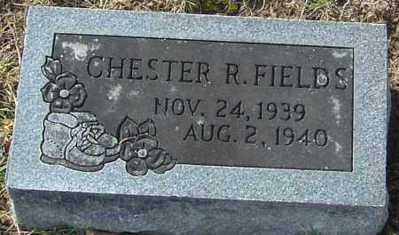 FIELDS, CHESTER R - Franklin County, Ohio | CHESTER R FIELDS - Ohio Gravestone Photos