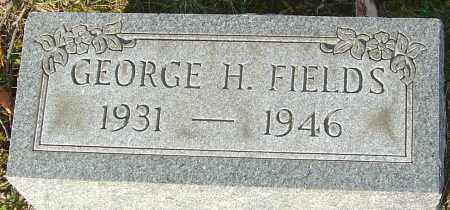 FIELDS, GEORGE H - Franklin County, Ohio | GEORGE H FIELDS - Ohio Gravestone Photos