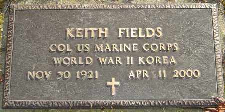 FIELDS, KEITH - Franklin County, Ohio | KEITH FIELDS - Ohio Gravestone Photos