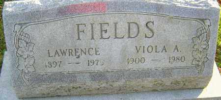 FIELDS, VIOLA - Franklin County, Ohio | VIOLA FIELDS - Ohio Gravestone Photos