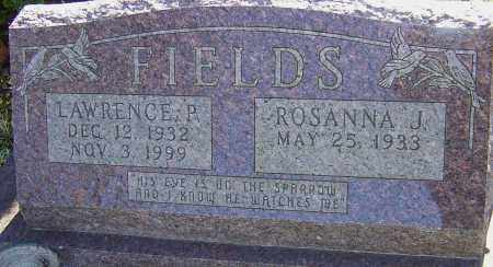 FIELDS, LAWRENCE P - Franklin County, Ohio | LAWRENCE P FIELDS - Ohio Gravestone Photos