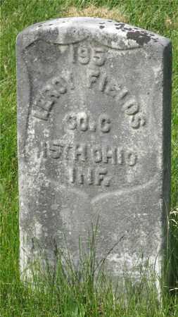 FIELDS, LEROY - Franklin County, Ohio | LEROY FIELDS - Ohio Gravestone Photos