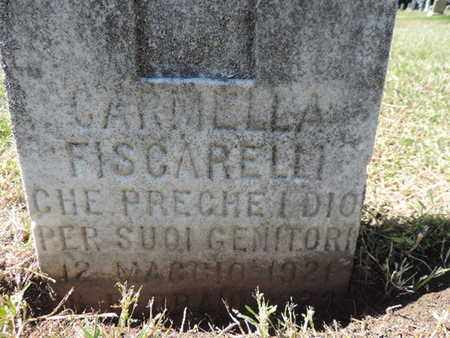 FISCARELLI, CARMELLA - Franklin County, Ohio | CARMELLA FISCARELLI - Ohio Gravestone Photos