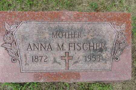 FISCHER, ANNA M. - Franklin County, Ohio | ANNA M. FISCHER - Ohio Gravestone Photos