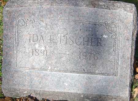 FISCHER, IDA E - Franklin County, Ohio | IDA E FISCHER - Ohio Gravestone Photos