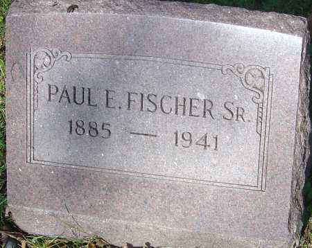 FISCHER SR., PAUL E - Franklin County, Ohio | PAUL E FISCHER SR. - Ohio Gravestone Photos