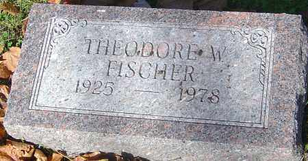 FISCHER, THEODORE W - Franklin County, Ohio | THEODORE W FISCHER - Ohio Gravestone Photos
