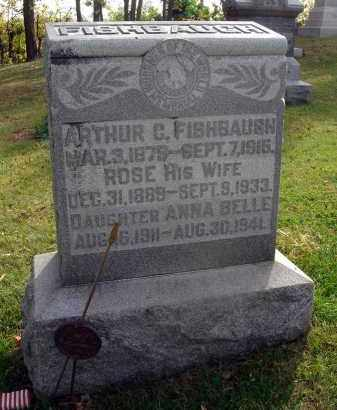 FISHBAUGH, ARTHUR C. - Franklin County, Ohio | ARTHUR C. FISHBAUGH - Ohio Gravestone Photos
