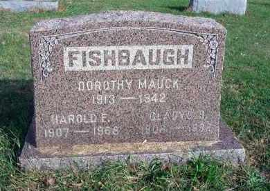 FISHBAUGH, HAROLD F. - Franklin County, Ohio | HAROLD F. FISHBAUGH - Ohio Gravestone Photos
