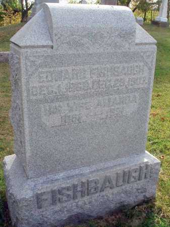FISHBAUGH, EDWARD - Franklin County, Ohio | EDWARD FISHBAUGH - Ohio Gravestone Photos