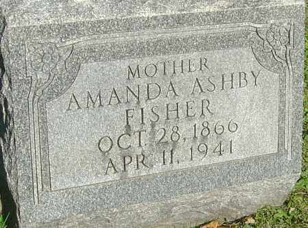 FISHER, AMANDA - Franklin County, Ohio | AMANDA FISHER - Ohio Gravestone Photos