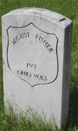 FISHER, AUGUST - Franklin County, Ohio | AUGUST FISHER - Ohio Gravestone Photos