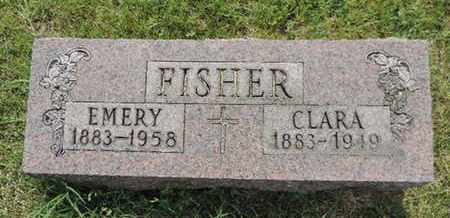 FISHER, CLARA - Franklin County, Ohio | CLARA FISHER - Ohio Gravestone Photos