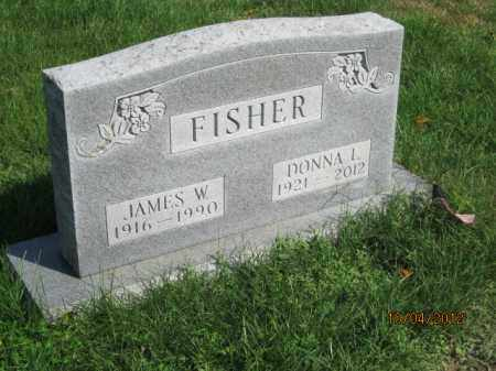FISHER, JAMES WILLIAM - Franklin County, Ohio | JAMES WILLIAM FISHER - Ohio Gravestone Photos