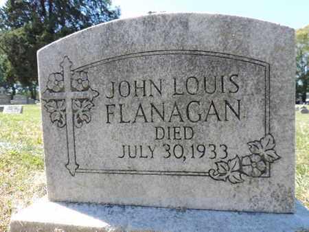 FLANAGAN, JOHN LOUIS - Franklin County, Ohio | JOHN LOUIS FLANAGAN - Ohio Gravestone Photos