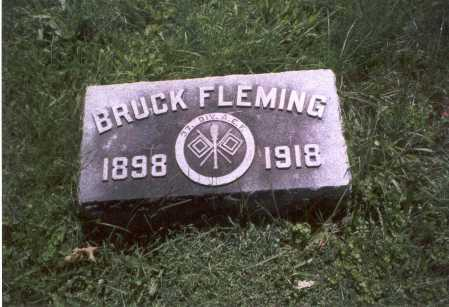 FLEMING, BRUCK - Franklin County, Ohio | BRUCK FLEMING - Ohio Gravestone Photos