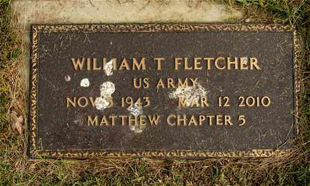 FLETCHER, WILLIAM T. - Franklin County, Ohio | WILLIAM T. FLETCHER - Ohio Gravestone Photos